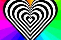 Free vector Vector clip art  zebra heart 12 stripes
