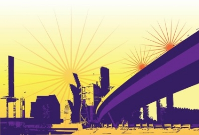Free vector Vector background  Urban Background Graphics