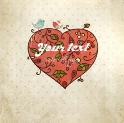 Free vector Vector background  valentine's day card background 03 vector