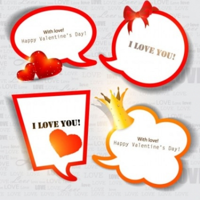 Free vector Vector Heart  valentine's day decorative elements 03 vector