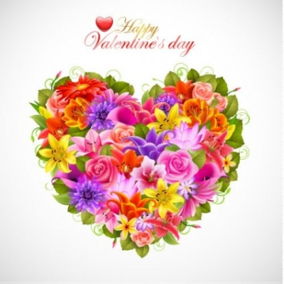 Free vector Vector flower  valentine's day flowers background 02 vector