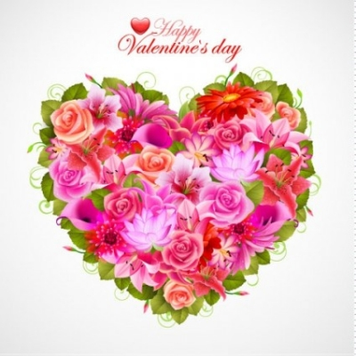Free vector Vector flower  valentine's day flowers background 05 vector