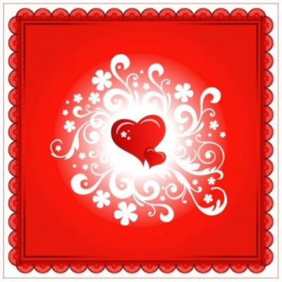 Free vector Vector Heart  valentine39s day heartshaped card 05 vector