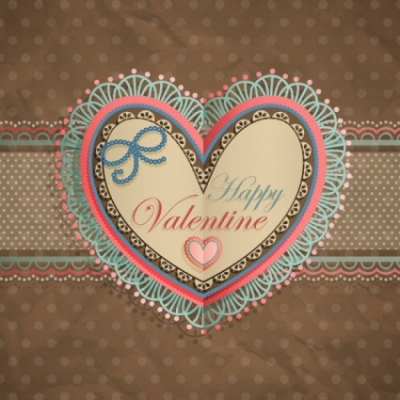 Free vector Vector Heart  valentine39s day heartshaped tag 04 vector