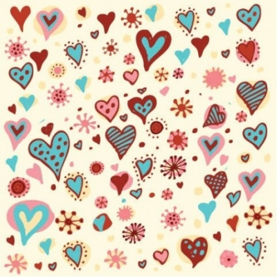 Free vector Vector pattern  Valentine's Day Hearts Pattern Vector Graphic
