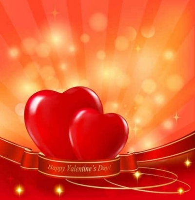 Free vector Vector background  Valentine Background