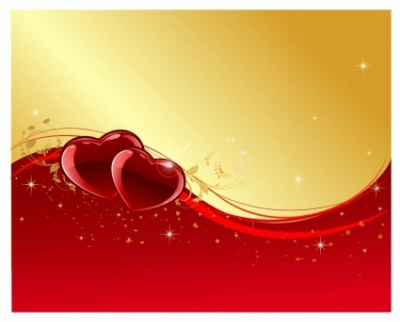 Free vector Vector Heart  Valentine day background