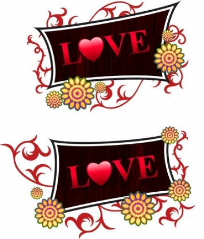 Free vector Vector Heart  valentine day decorations vector