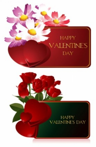 Free vector Vector Heart  valentine day greeting card vector