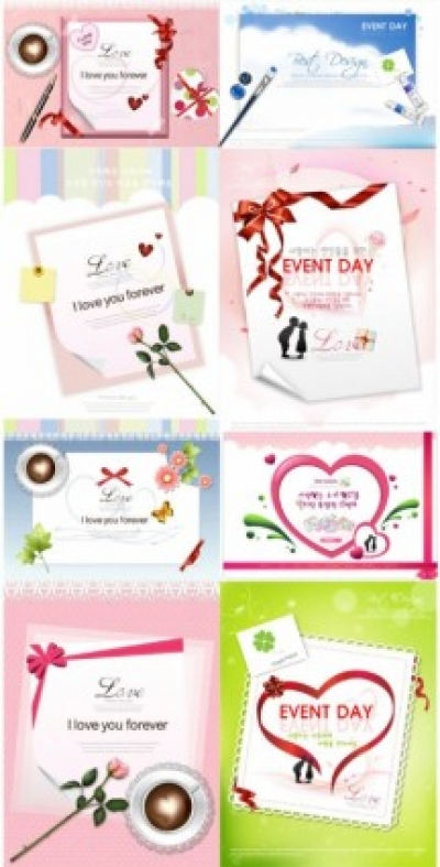 Free vector Vector Heart  valentine day theme vector