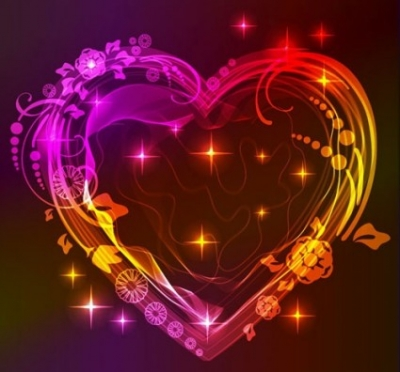 Free vector Vector Heart  valentine gorgeous light 05 vector