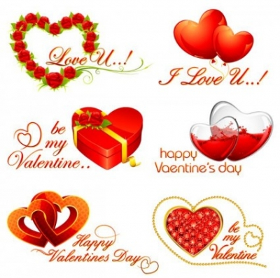 Free vector Vector Heart  Valentine Heart Elements