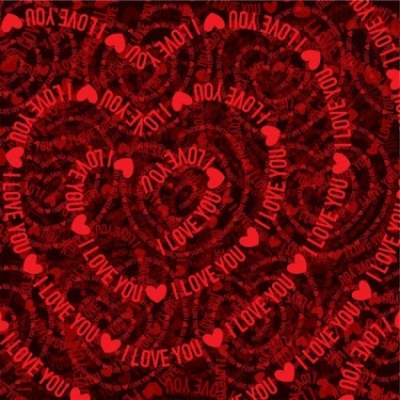 Free vector Vector background  Valentine hearts red background