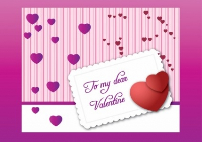 Free vector Vector Heart  Valentine Letter Vector