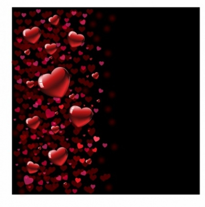 Free vector Vector Heart  Valentines Background