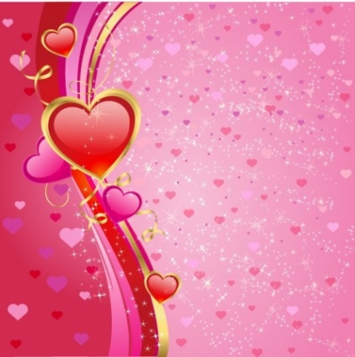 Free vector Vector Heart  Valentines heart background