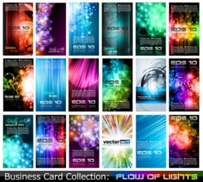 Free vector Vector misc  variety of business card template 05 vector