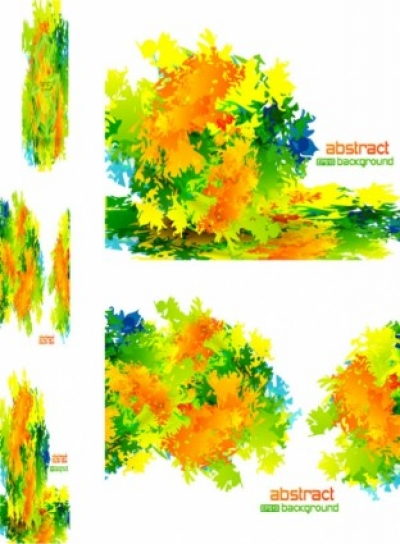Free vector Vector abstract  vector abstract background texture leaves