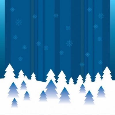 Free vector Vector abstract  Vector Abstract Winter Background