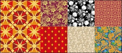 Free vector Vector flower  Vector background patterns useful material