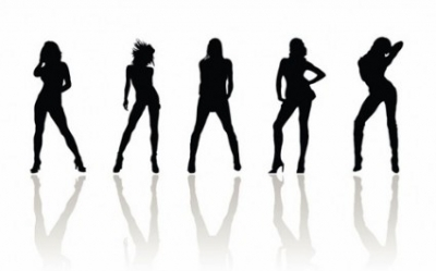 Free vector Vector Silhouettes  Vector Beauty Woman Silhouettes