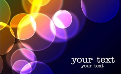 Free vector Vector background  Vector Blury Lights Background