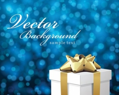 Free vector Vector background  Vector Bokeh Christmas Background