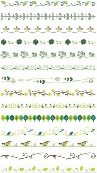 Free vector Vector misc  Vector Border Decoration Design Elements