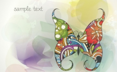 Free vector Vector background  Vector Buttefly Background