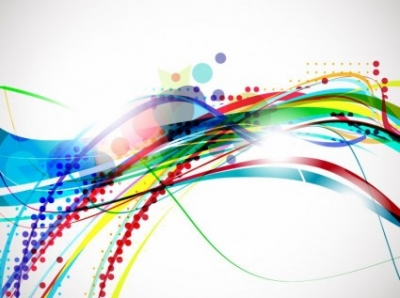 Free vector Vector abstract  Vector Colorful Abstract Wave Design Background
