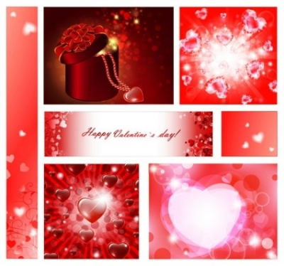 Free vector Vector Heart  vector elements of a romantic valentine day