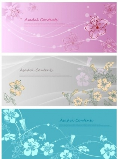 Free vector Vector flower  Vector fantasy flowers hand-painted