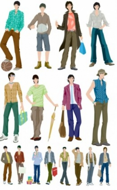 Free vector Vector misc  vector fashion boy