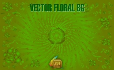 Free vector Vector floral  Vector Floral Background