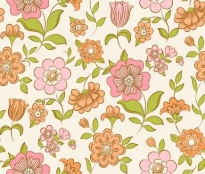 Free vector Vector floral  Vector Floral Pattern