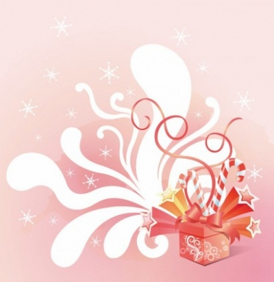 Free vector Vector background  Vector Gift Box Celebration Background