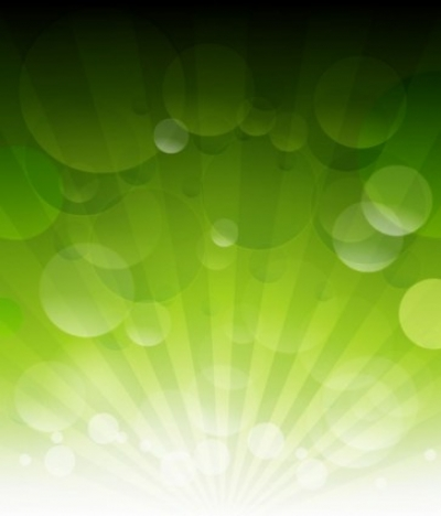 Free vector Vector abstract  Vector Green Bokeh Abstract Light Background