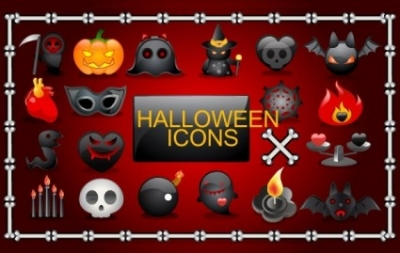 Free vector Vector icon  Vector Halloween icons