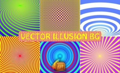 Free vector Vector background  Vector Illusion Backgrounds