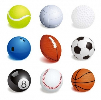 Free vector Vector sport  Vector Illustration of Sport Balls