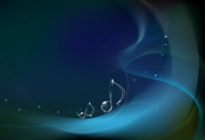 Free vector Vector background  Vector Musical Notes on Wave Background