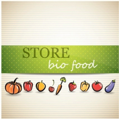 Free vector Vector background  vegetable menu background 02 vector