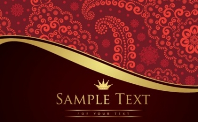 Free vector Vector background  Vintage Paisley Background