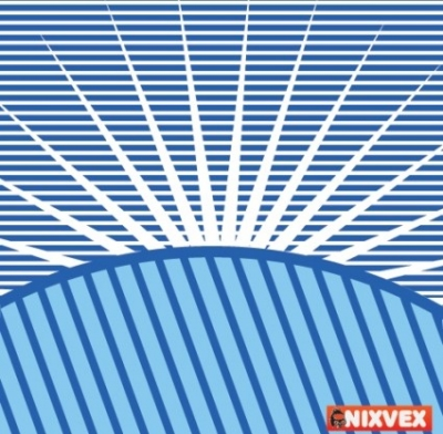Free vector Vector background  VixVex Free Vector Op Art Background with Sun Burst