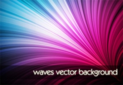 Free vector Vector background  Waves Vector Background