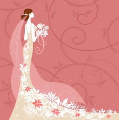 Free vector Vector background  wedding card background 02 vector