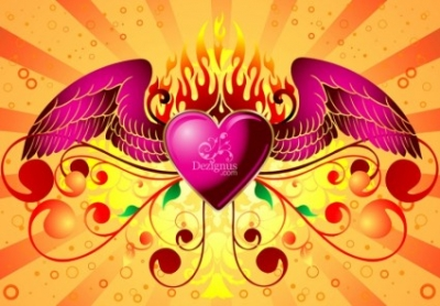 Free vector Vector Heart  Wild at Heart
