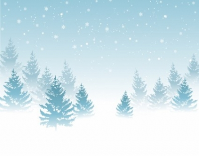 Free vector Vector background  Winter Background