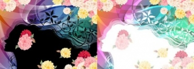 Free vector Vector flower  woman with flowers vector 5