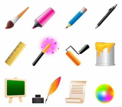 Free vector Vector icon  Writing and Drawing icons